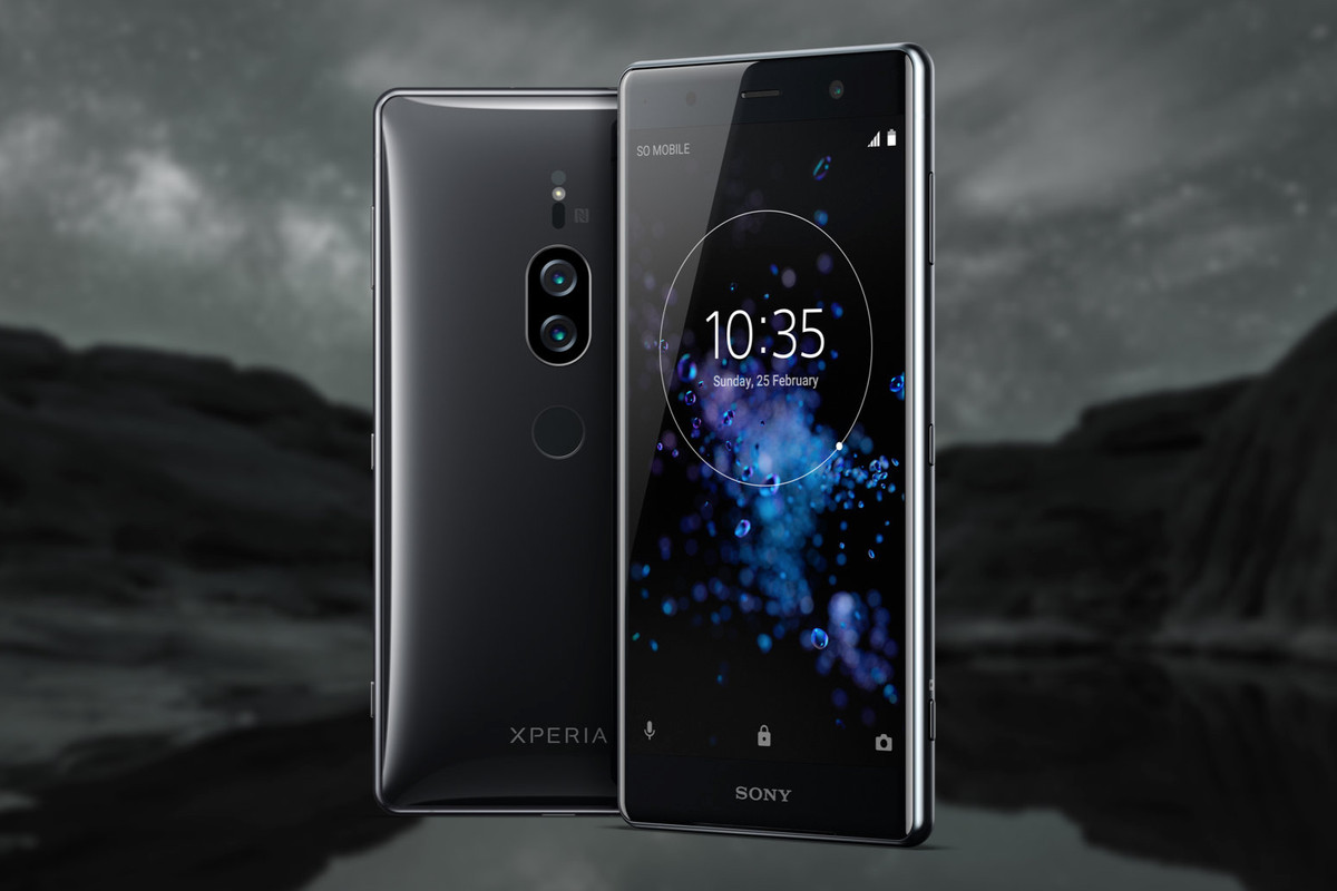 Sony's Xperia XZ2 Premium has a 4K display and cameras built for 'extreme' low-light shooting - The Verge