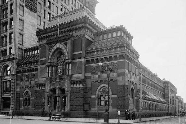 Pafa Historic Landmark Building America Modern
