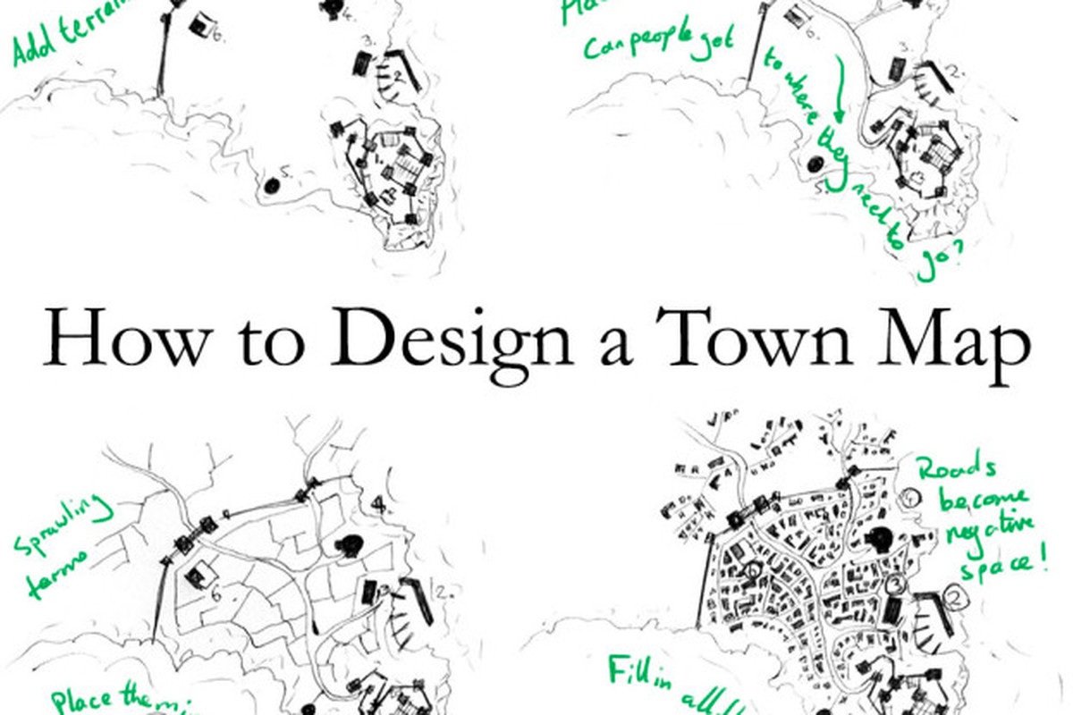 The no-bullshit guide to better town maps for your D&D