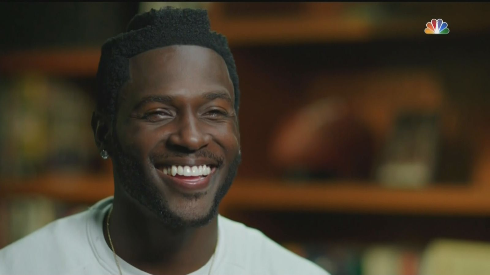 Thankfully Antonio Brown Plays Football And A Helmet Will