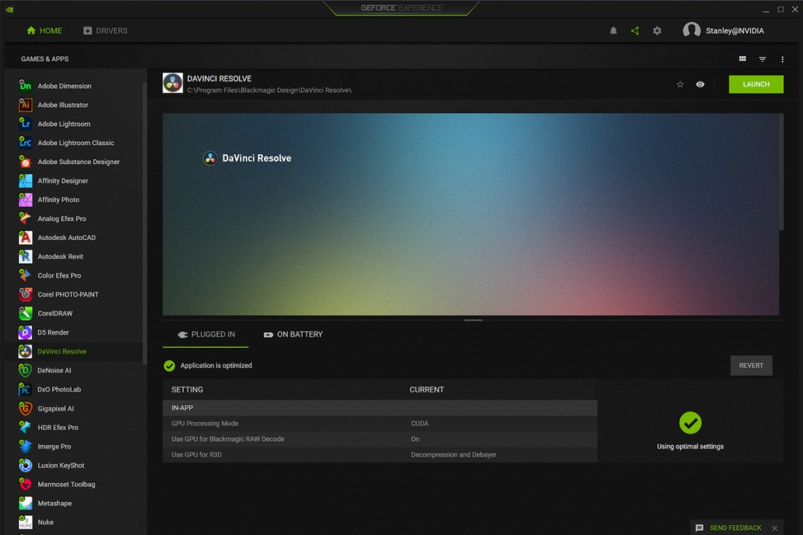 Nvidia's GeForce Experience now optimizes settings for creative apps