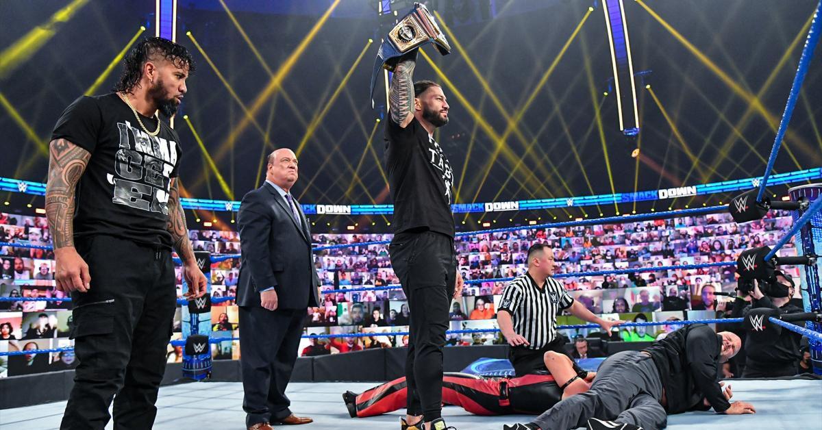 WWE SmackDown results, recap, reactions (Jan. 8, 2021): Consistency is key