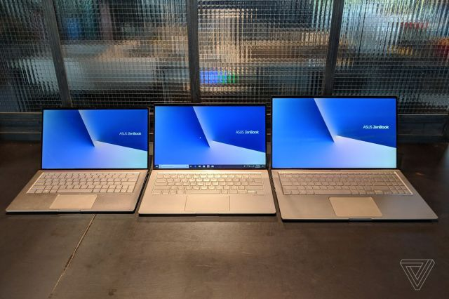 <em>The new Asus ZenBook 13, 14, and 15.</em>