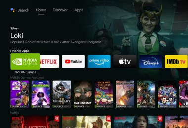 The Nvidia Shield's Android TV interface is getting a Google TV-inspired revamp