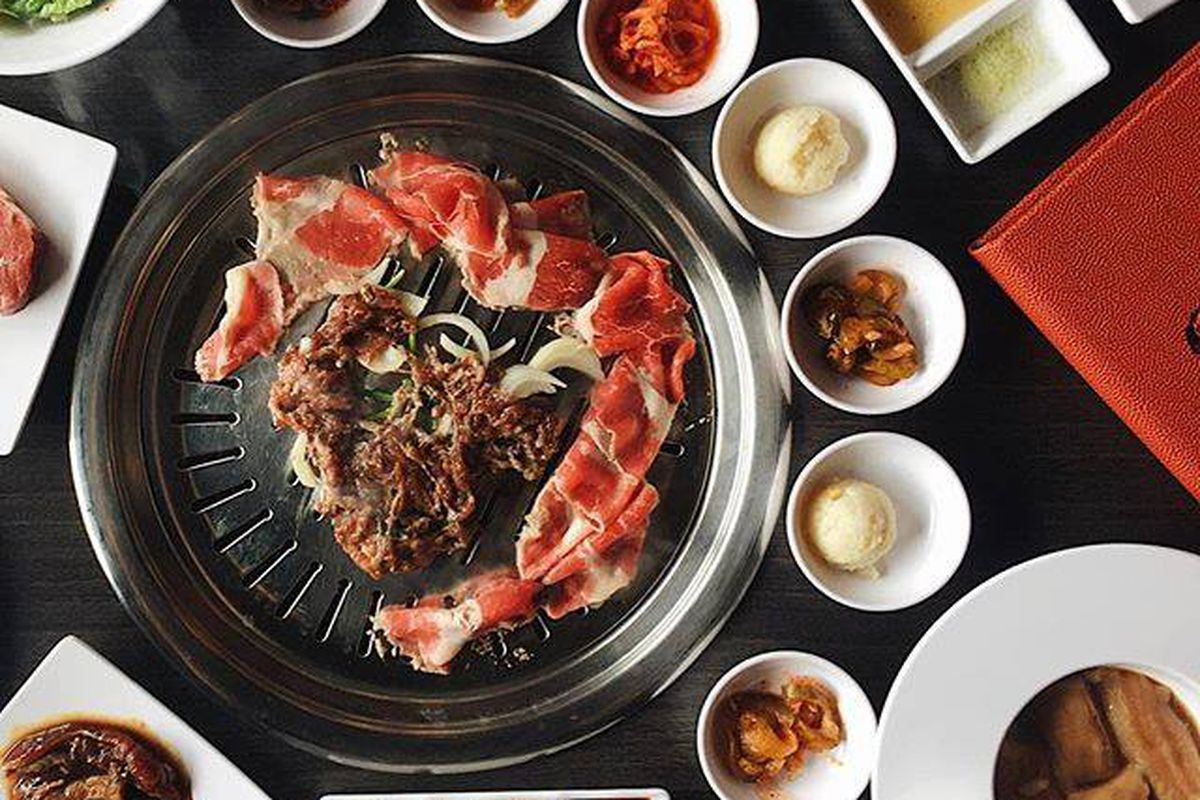 Mesa Korean Bbq Buffet