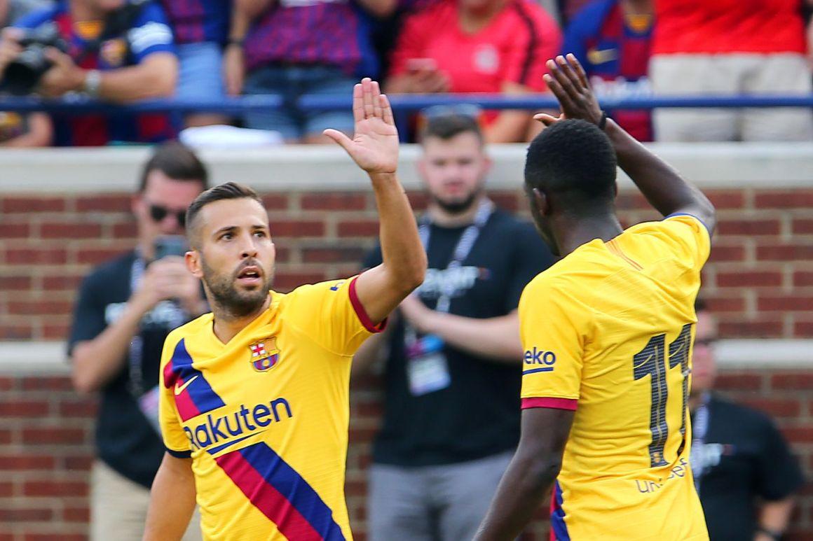 Barcelona rumors: Jordi Alba, Ousmane Dembele and Nelson Semedo ...