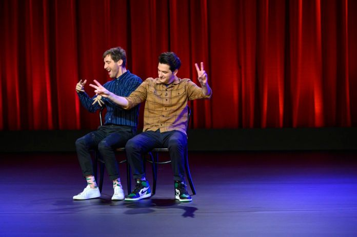 thomas middleditch and ben schwartz in middleditch & schwartz