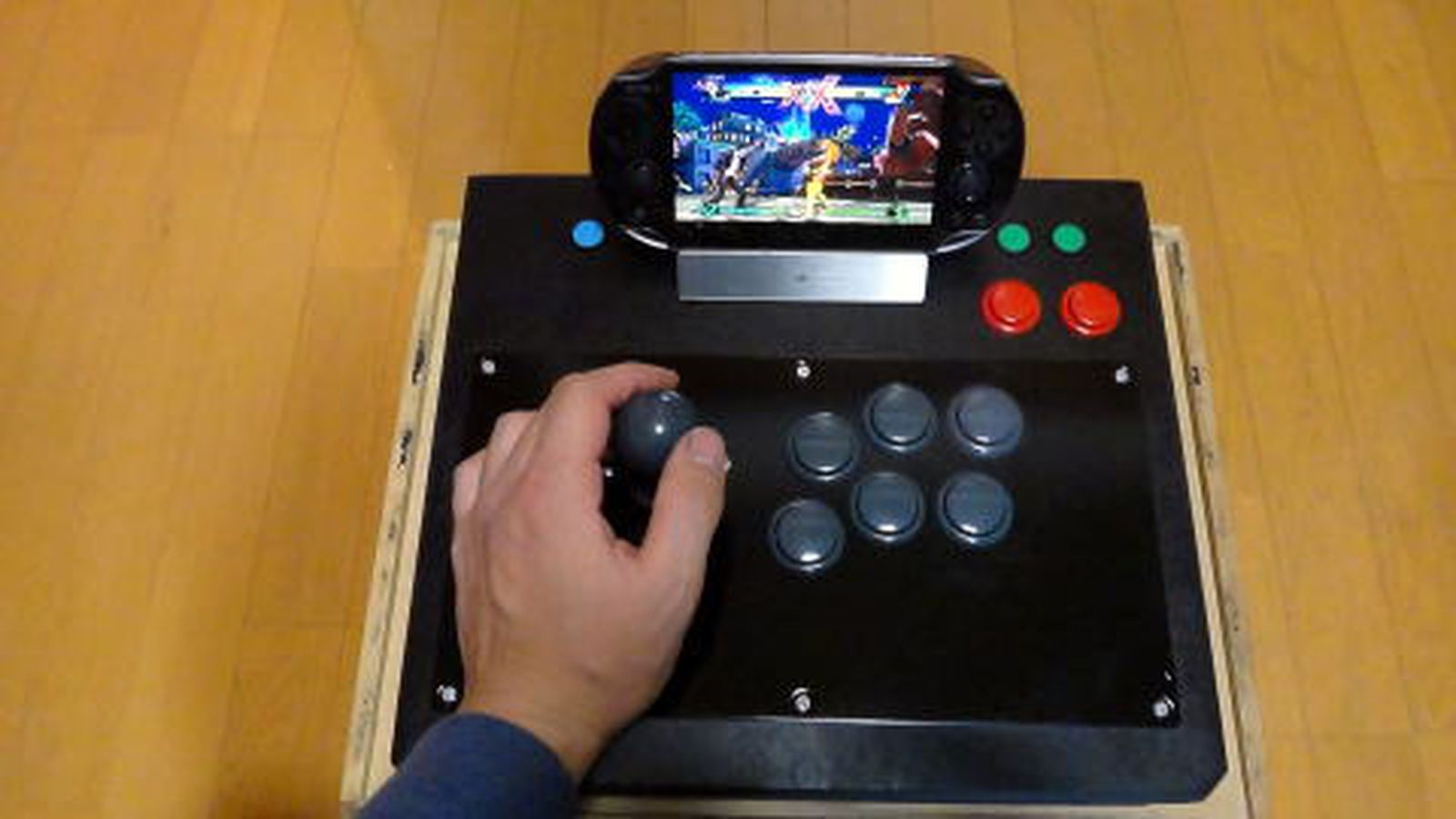 Arcade stick hack turns PS Vita into a mini Street Fighter cabinet  The Verge