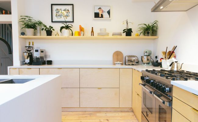 Ikea Kitchen Cabinets Hacked With Plywood By New Company