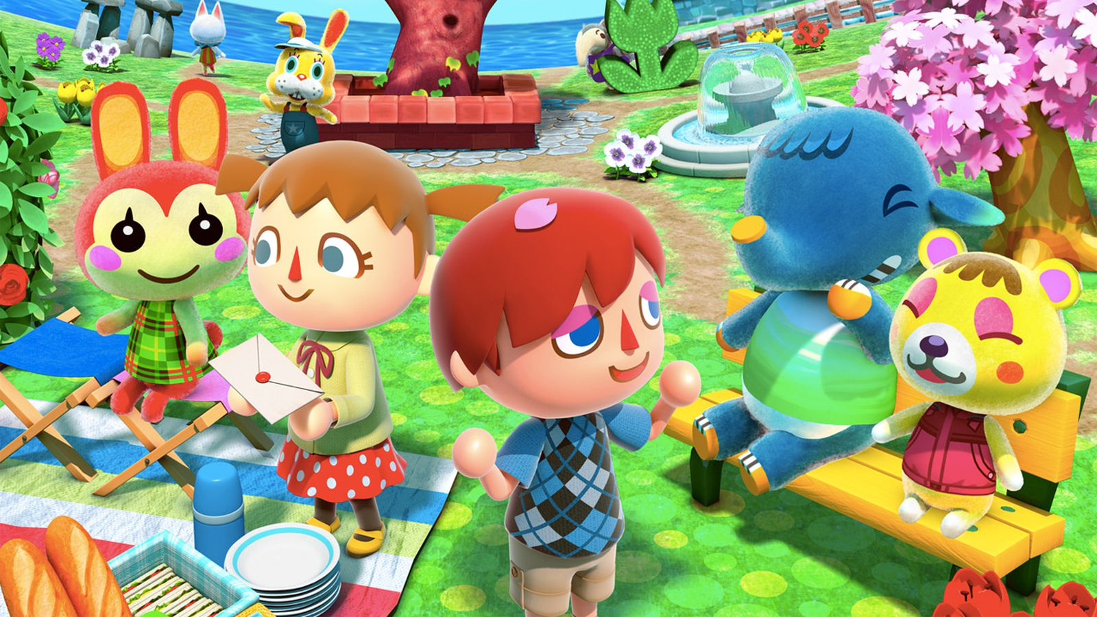 Animal Crossing Wild World Wallpaper Animal Crossing New Leaf S Big Amiibo Update Is Available