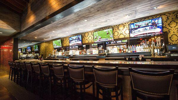 Upscale Sports Bar Interior Design