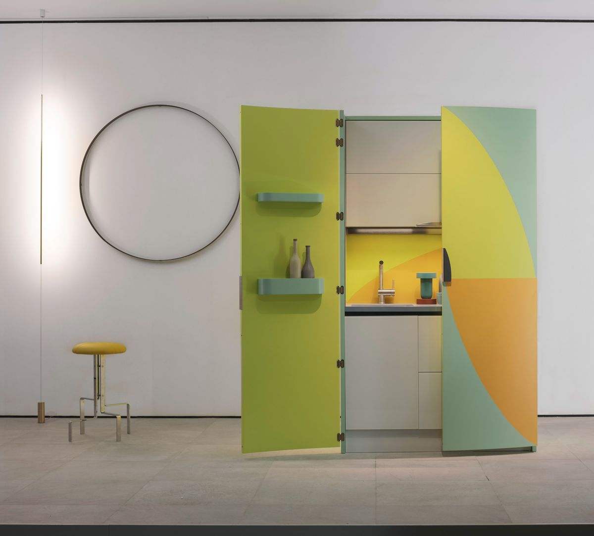 Japanese Micro Kitchens Come Brilliantly Disguised Curbed