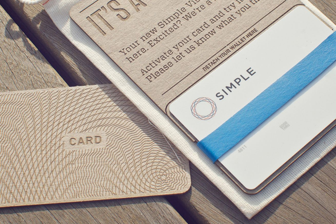 simple card