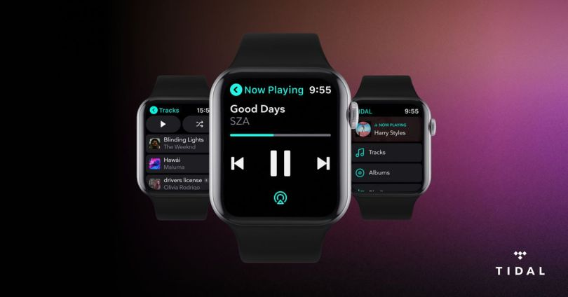 Tidal now also offers offline listening on the Apple Watch