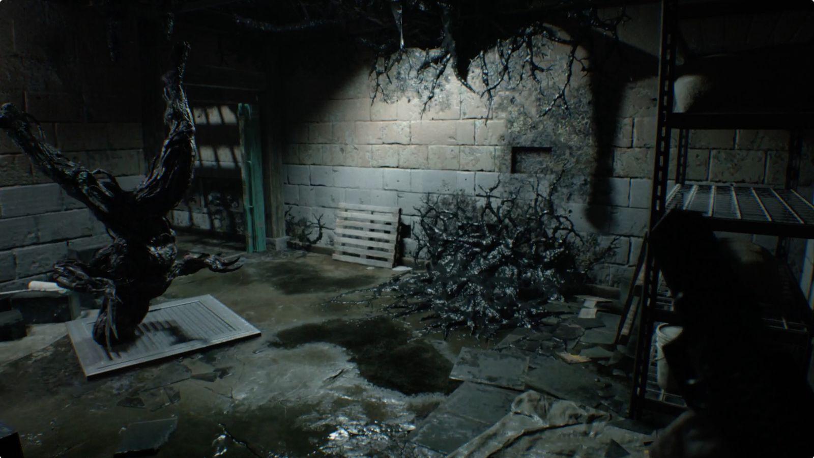 Black Mold Under Wallpaper Resident Evil 7 Guide And Walkthrough 2 3 Jack S Back And