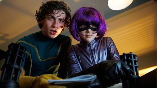 aaron taylor-johnson and chloe grace moretz in kick-ass