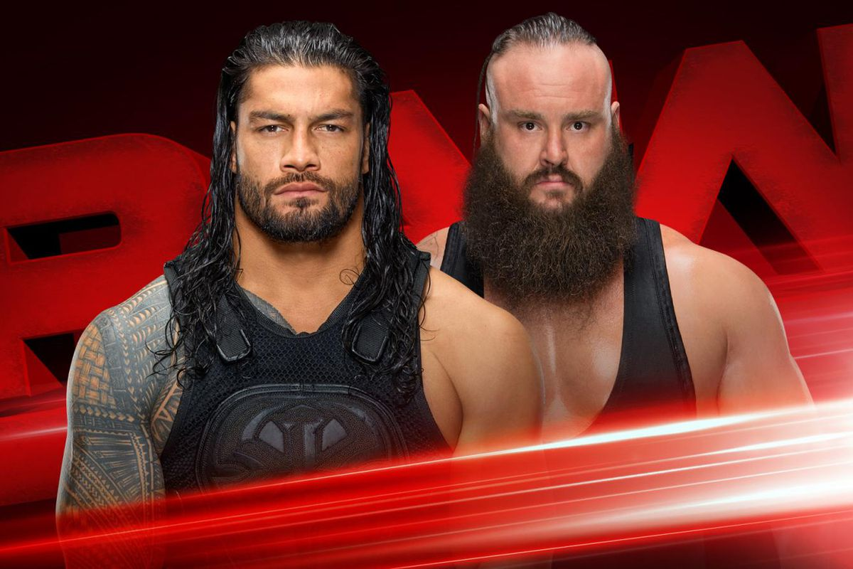 steel chair in wwe office on wood floor raw results live blog oct 16 2017 reigns vs