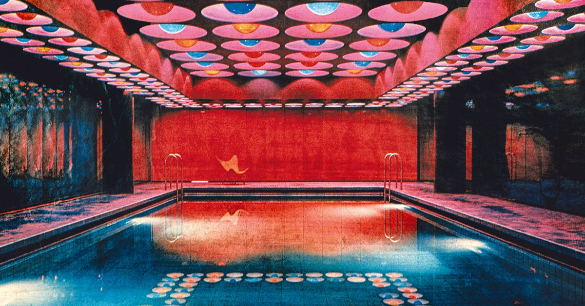 Verner Pantons groovy interiors were designed to trip you