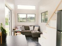 Tiny house features a spacious living room - Curbed