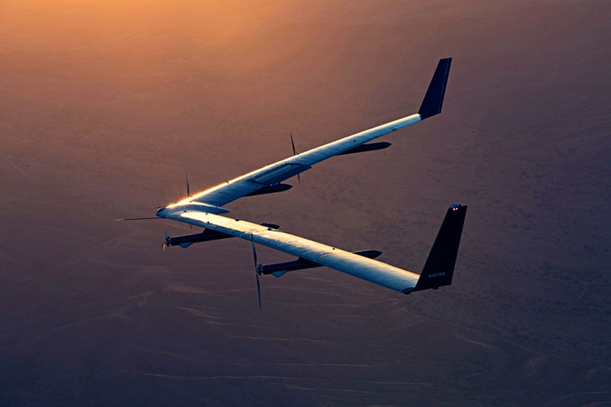 Facebook S Internet Beaming Drone Completed Its Second