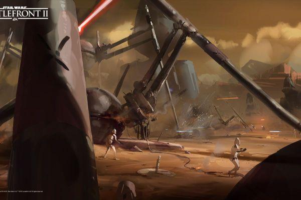 Star Wars Battlefront 2 Concept Art Worthy Of