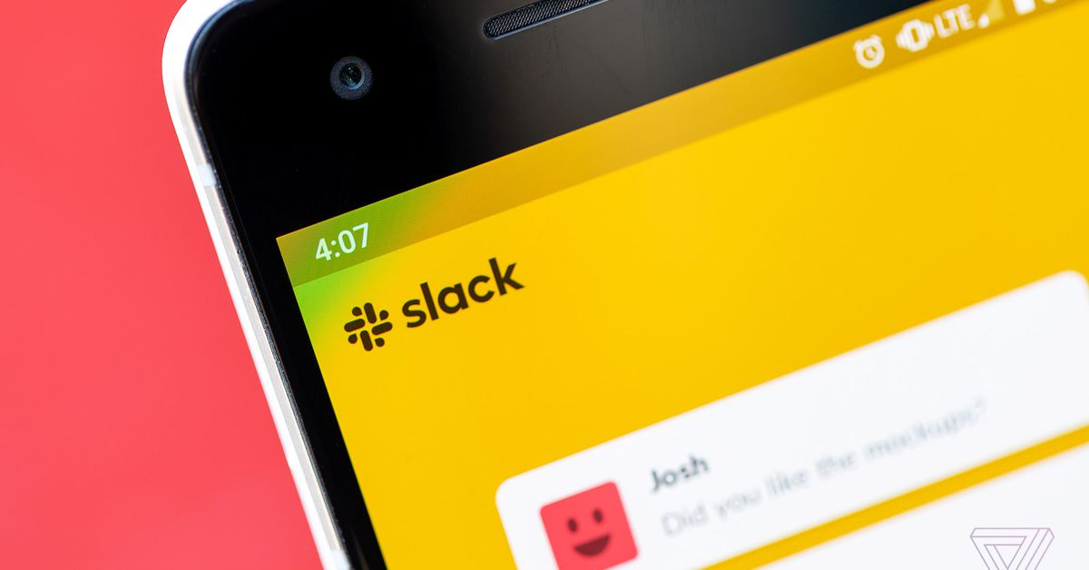 Salesforce is acquiring workplace chat app Slack for .7 billion
