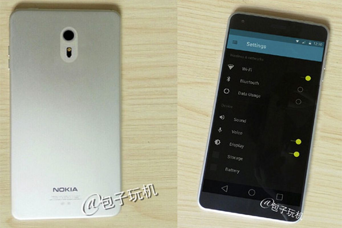 hight resolution of nokia c1 android smartphone concept emerges