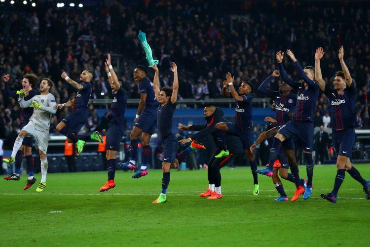 Paris Saint-Germain vs. Barcelona, 2017 Champions League ...