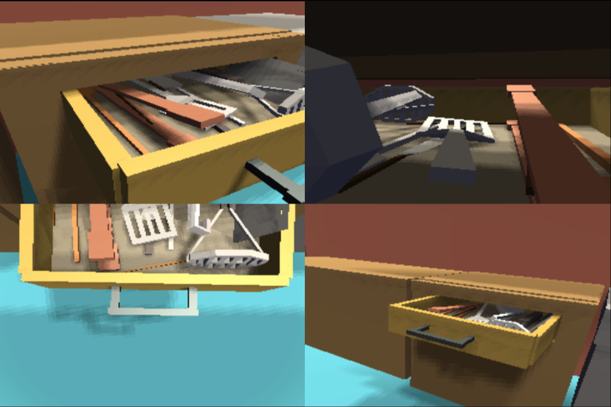 kitchen simulator square table drawer unlocks the physics puzzle that s inside everyone