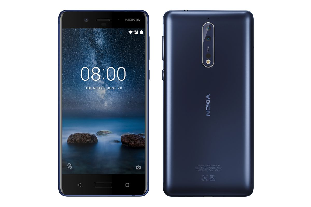 Nokia 8 revealed in leaked images with dual-camera Zeiss optics - The Verge