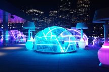 Drink Booze In Rooftop Igloo And