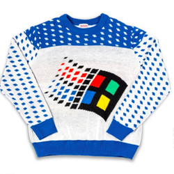 <em>The Windows XP Ugly Sweater is as essential as the operating system it's based on.</em>