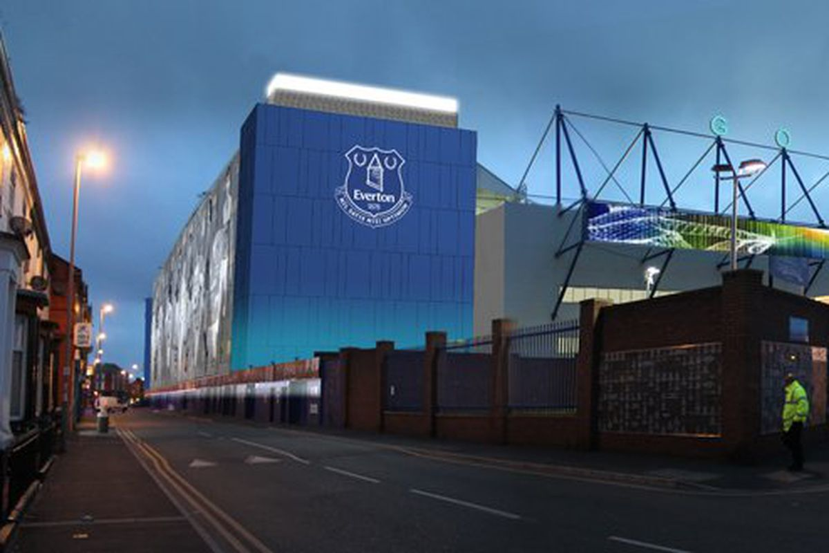 Everton Submit Goodison Park Refurbishment Plans Royal
