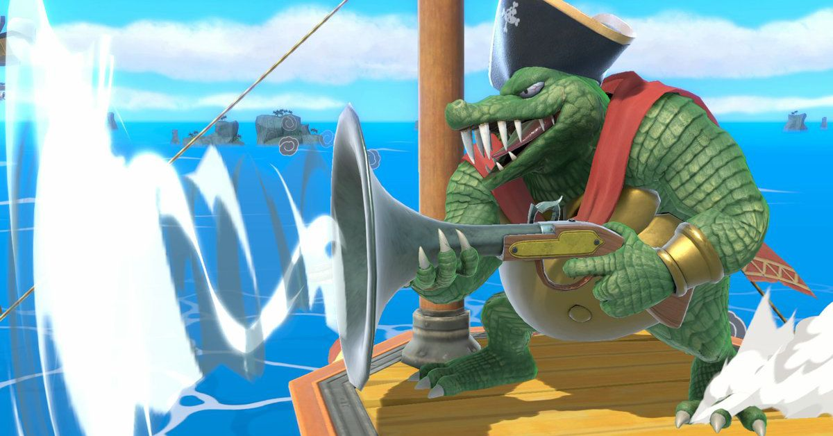 Watch King K Rool Gameplay From Super Smash Bros Ultimate Polygon