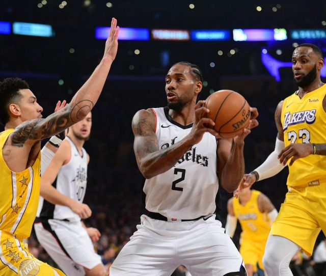 Clippers Vs Lakers Preview Game Thread Start Time Tv Schedule