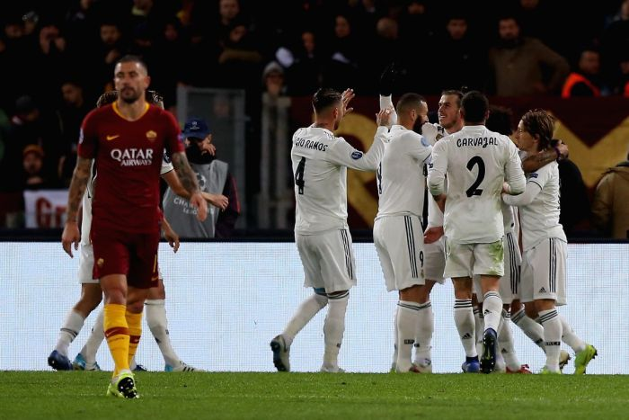 Roma vs Real Madrid, Source- Getty Images
