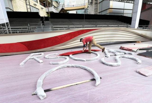 91st Annual Academy Awards - Preparations Continue