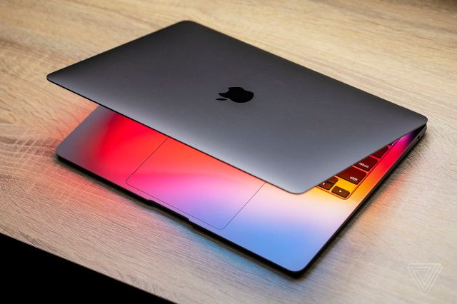The new MacBook Air with the M1 chip