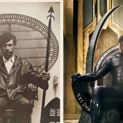 Throne Chair For Sale Swing Indoor In 'black Panther,' Wakanda's References Real-world Furniture - Curbed
