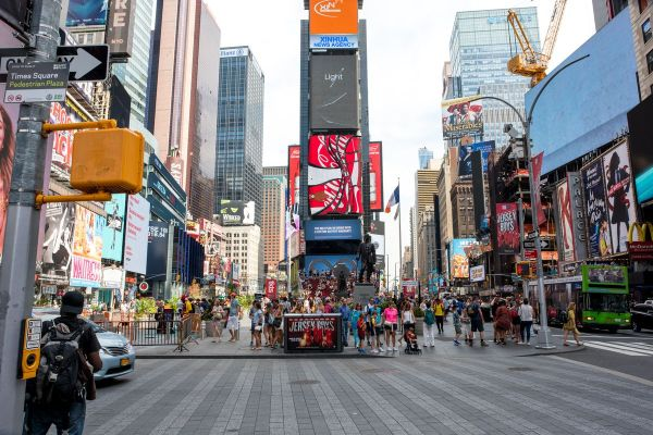 Design Objects Enliven Times Square
