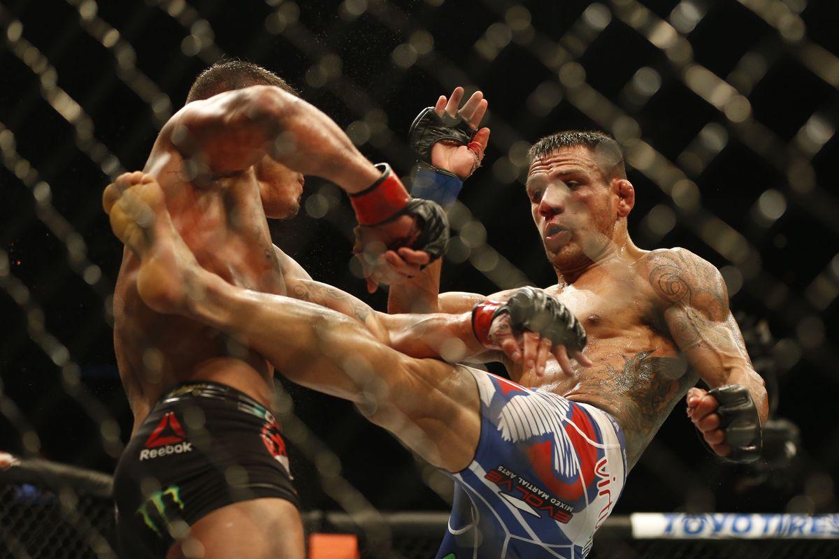 UFC 185 Judo Chop Rafael Dos Anjos A Flawless Execution