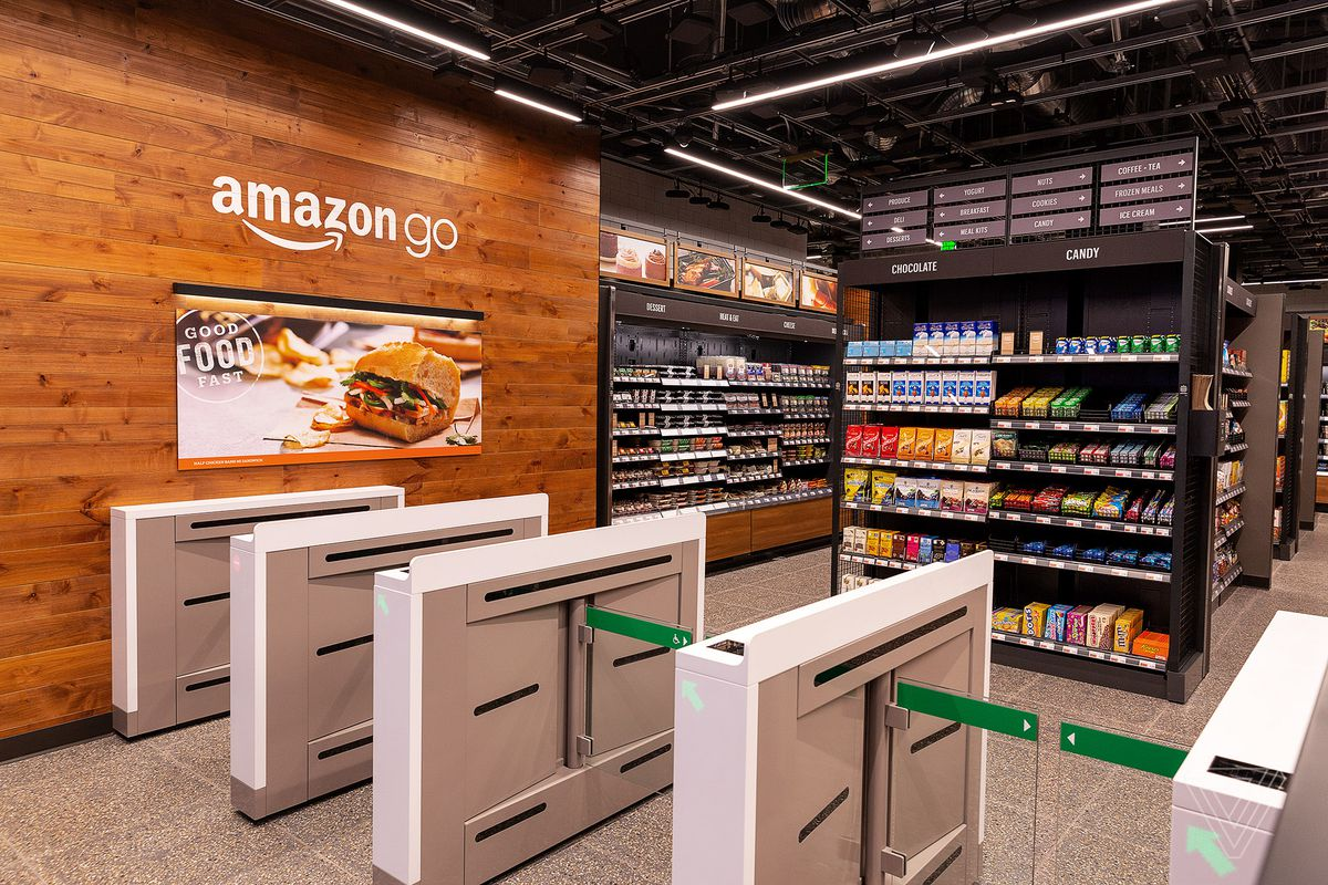 Amazon's latest cashier-less Go store opens in San Francisco today - The Verge