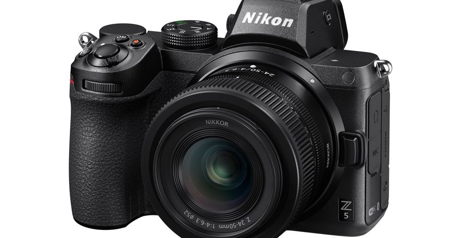 The Nikon Z5 is an entry-level full-frame mirrorless camera for ,399
