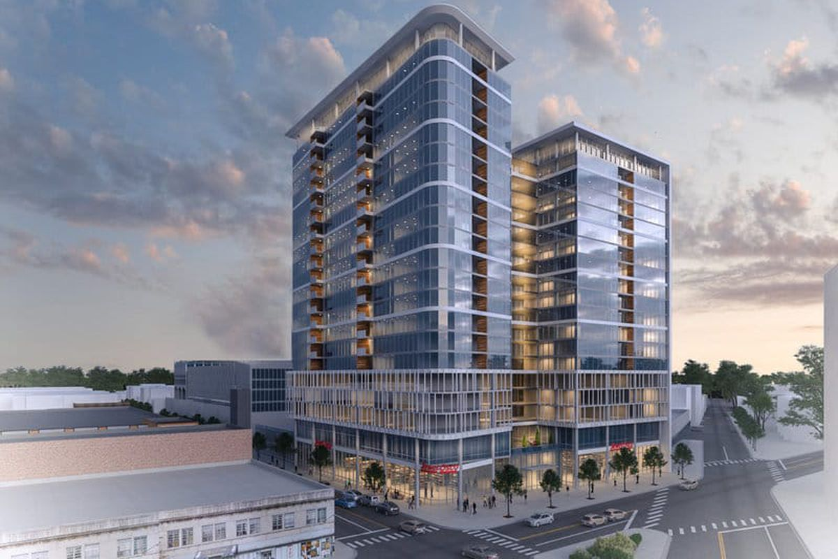 Design Study Shows Potential High Rise Makeover For Uptown