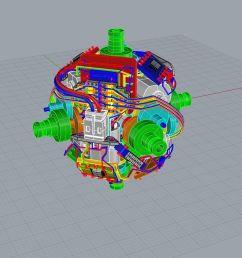 self solving rubik s cube image human controller a 3d mock up of the motors image human controller [ 1200 x 900 Pixel ]