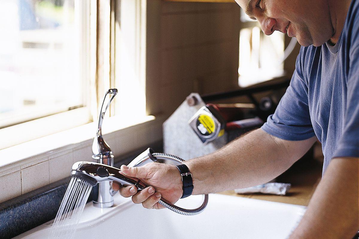 kitchen sink installation step by step