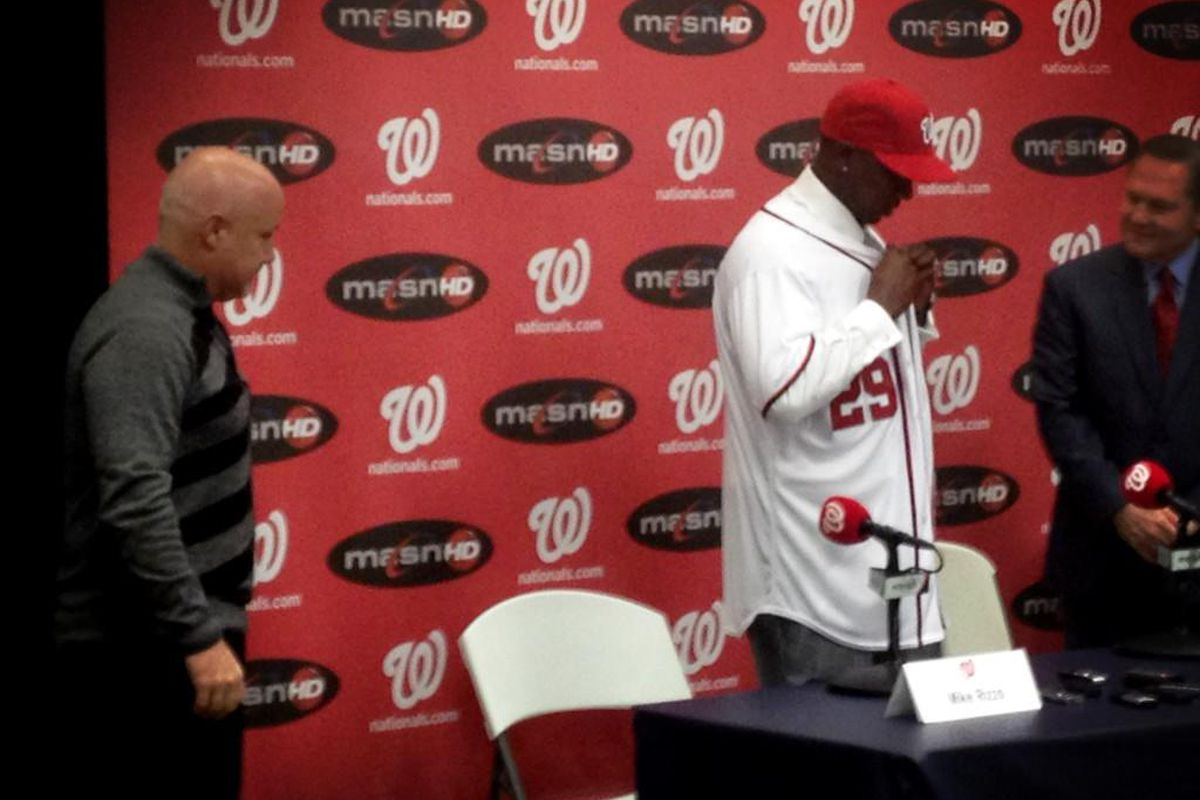 Wire Taps Where Is New Washington Nationals' Closer Rafael