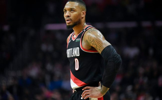Lowe Damian Lillard Looks Ready For 2019 Nba Playoffs