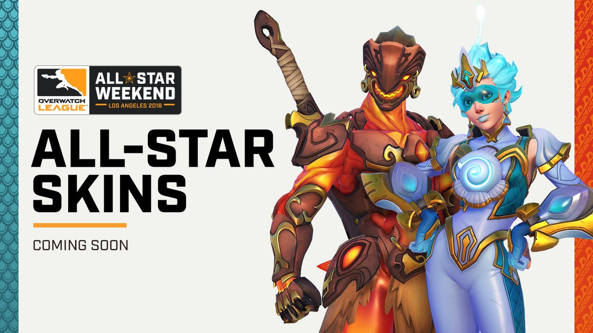 Two New All Star Skins Are Heading To Overwatch Heroes Never Die