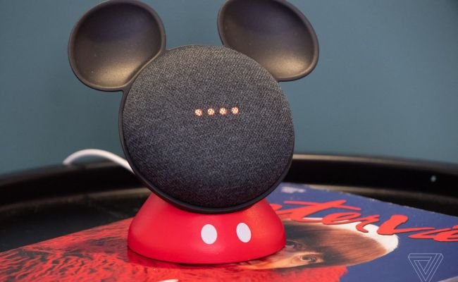 This Cute Stand Makes Google S Home Mini Look Like Mickey